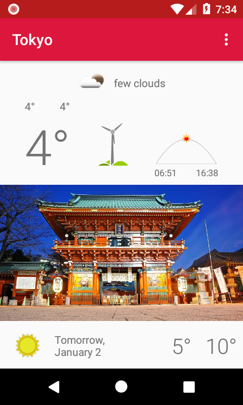 Скриншот Tokyo - weather and more