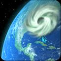 Wind Map Hurricane Tracker, 3D icon
