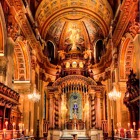 St Paul's Cathedral  by William Underwood  - Buildings & Architecture Places of Worship