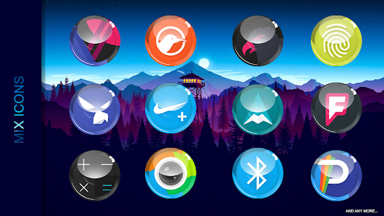 Arcryste - icon pack Screenshot