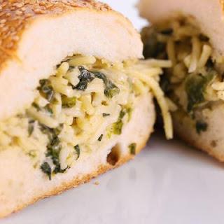 Leftover Pasta Sandwich Recipe