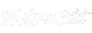 Writer's Edit Logo White