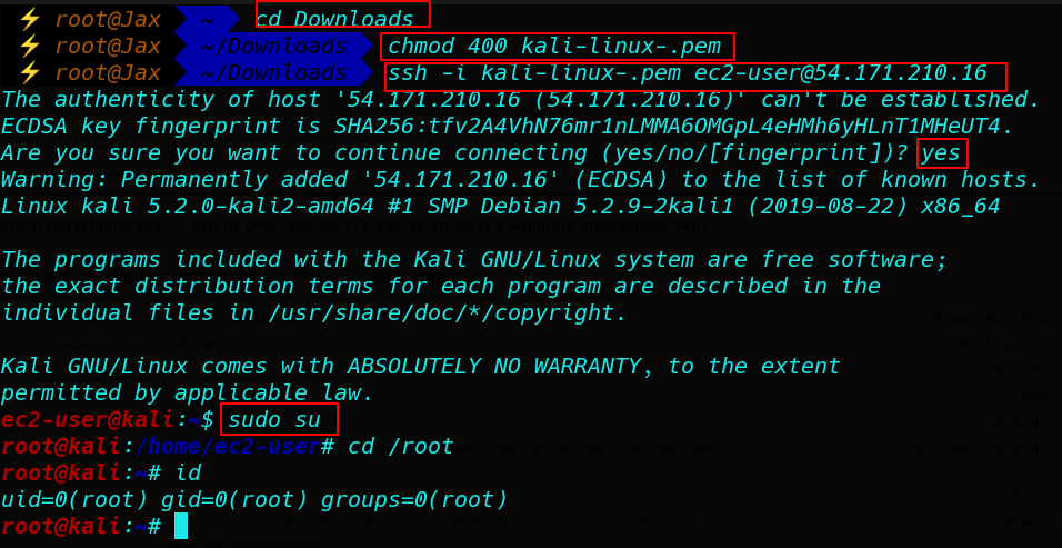 Kali-Linux install