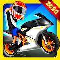 Cartoon Cycle Racing Game 3D icon