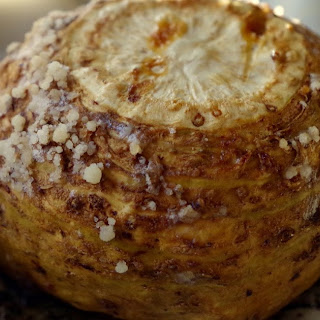 Whole Roasted Celery Root.