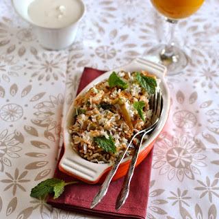 Tamil Nadu -- Chettinad Vegetable Biryani