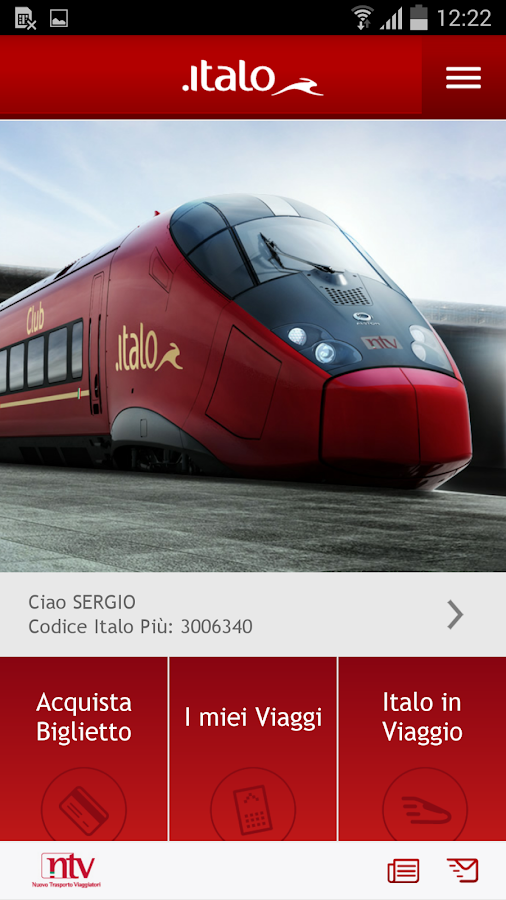 Italo Treno- screenshot