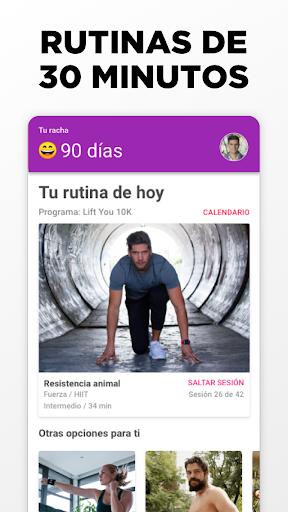 InstaFit - Ejercicio en Casa for Android apk 2