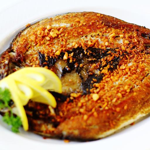 Whole Pan-Fried Milkfish