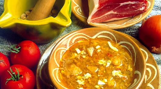 La gastronomía en la zona interior almeriense