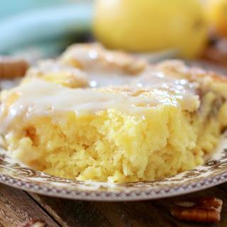 Easy Pineapple Crumb Cake.