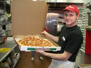 Photo: Pepperoni and Sausage cannot be denied as  top-5 selling pies of all time.  I`m proud of my pizzas.  I am Jim Hofman the owner.  I look forward to meeting you!  Come on over to Pino`s and ask for me!