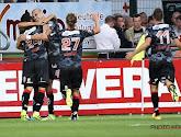 Mouscron s'impose 2-1 face à Saint-Trond