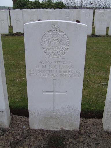 David Marshall McEwan grave