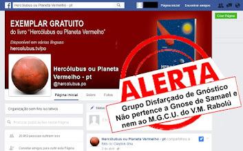 Photo: INFORME ATUAL -1  Devido a nossa denúncia, a página Hercólubus Nibiru Planeta X do grupo disfarçado de gnóstico Associação Alcione, passou depois denominar a mesma página de Hercólubus ou Planeta Vermelho.  Veja mais --------------------------------------- >>>