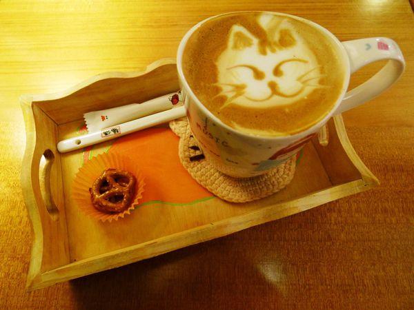 貓小路cafe 貓咪拉花&美味帕尼尼(基隆) @frogmerry 青蛙梅莉