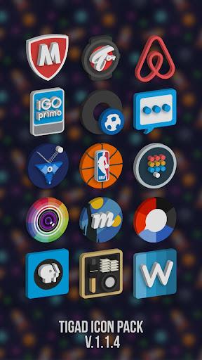 Tigad Pro Icon Pack  screenshots 8