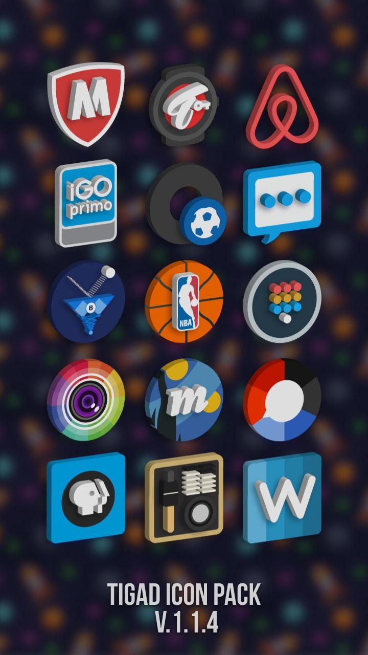 Tigad Pro Icon Pack Screenshot 7
