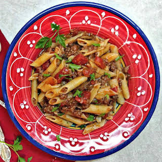 Penne Pasta With Ground Beef Recipes.