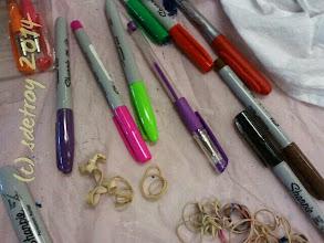Photo: I am grateful for art pens and pencils
