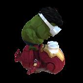 Minion Avenger Angry Hulk