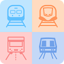 双鉄時刻表(台湾電車新幹線、航空、バス、公衆自転車、乗り換え、地下鉄)
