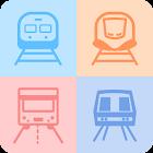 双鉄時刻表(台湾電車新幹線、航空、バス、公衆自転車、乗り換え、地下鉄) icon