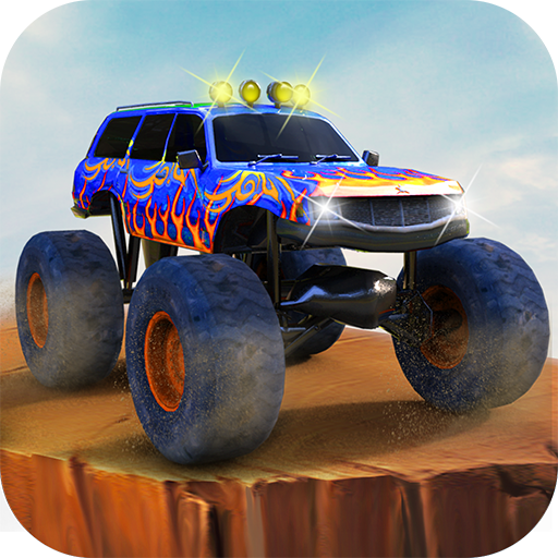模擬App|終極怪物卡車賽車 LOGO-3C達人阿輝的APP