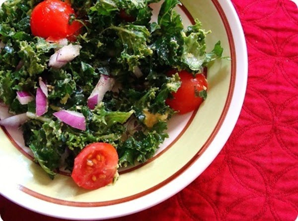 Raw Kale Salad Recipe