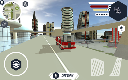 Robot Firetruck apktram screenshots 5