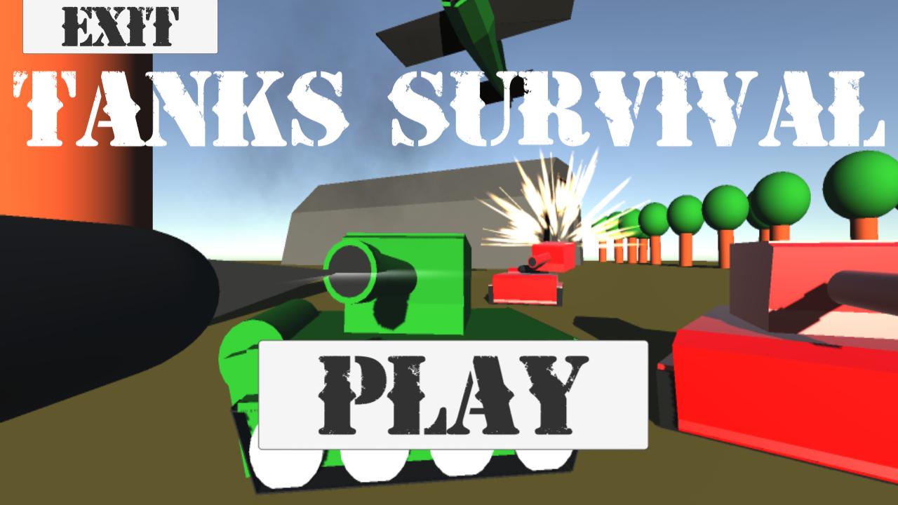 Tanks survival - Dynamiczna gra z czołgami!