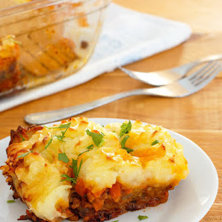 Classic Comfort Food - Shepherd's Pie.