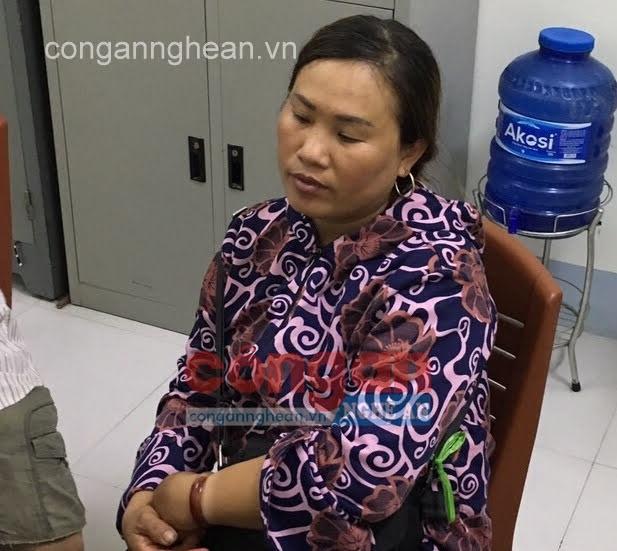 Đối tượng Nguyễn Thị Sáng