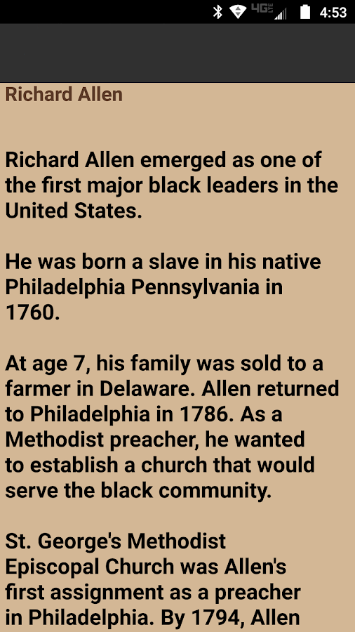 Black History People 2.4- screenshot