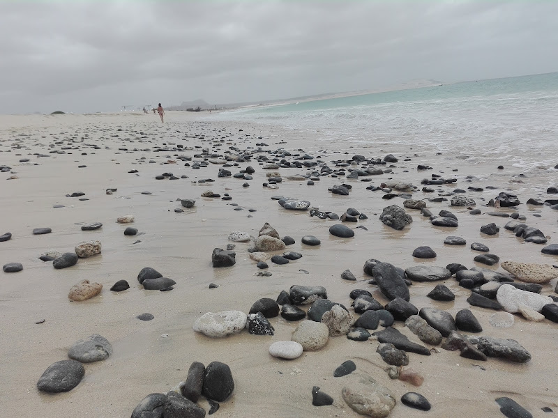 spiaggia a Capo Verde di dietdie