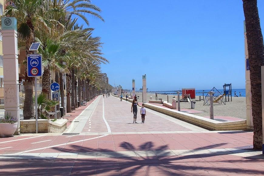Almería, Paseo Marítimo.