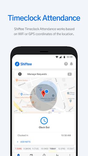Shiftee - Schedule/Timeclock/Payroll 1.2.242 screenshots 2