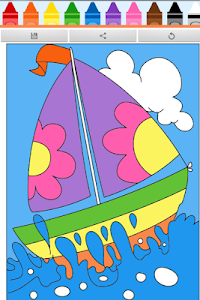 Coloring Book : Ship screenshot 2