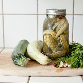 Dill Pickled Squash
