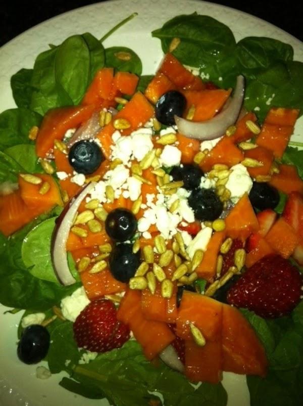Royal Star Papaya And Spinach Salad Recipe