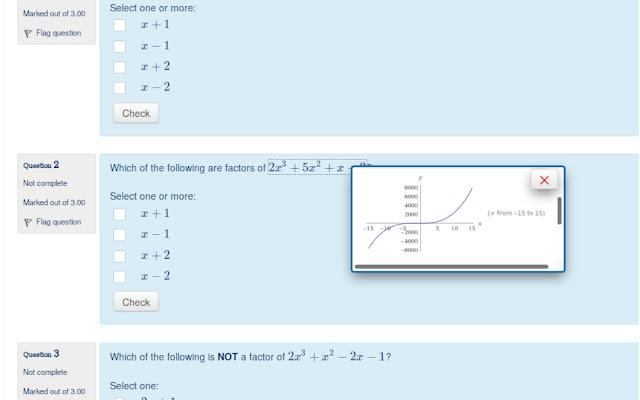 Rendered Maths Solver