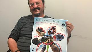 Paco García, responsable de la Asociación Trotamundos Animados.