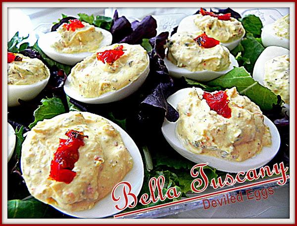 Bella Tuscany Deviled Eggs Recipe