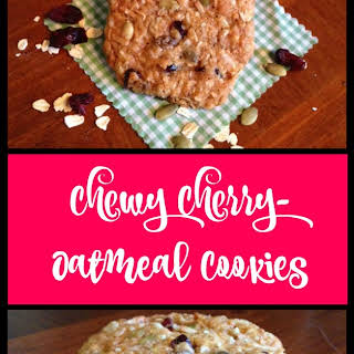 Chewy Cherry-Oatmeal Cookies.