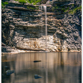 Awosting Falls by Bala Ve - Landscapes Waterscapes ( waterfalls, minewaska, upstate new york, hudson valley, awosting falls )