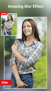 Download Auto background blur - DSLR Portrait image effect For PC Windows and Mac apk screenshot 3
