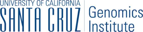 Logo for University of California Santa Cruz Genomics Institute
