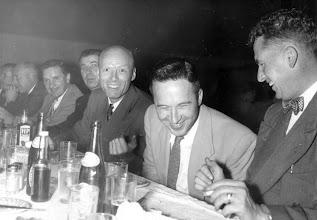 Photo: Hal Horsburgh, & Charlie Watson (left of center)