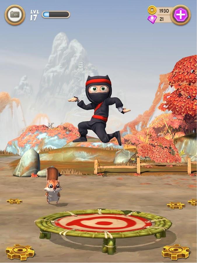 Screenshots of Clumsy Ninja for iPhone