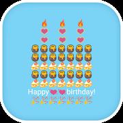 Emoji Keyboard - Birthday Art